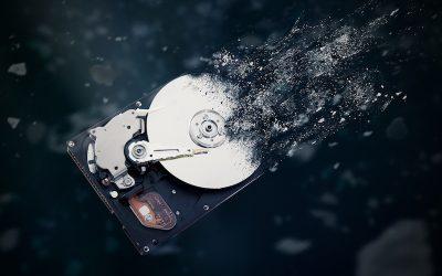 Storage media data destruction